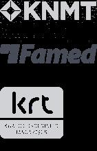 Aangesloten bij KNMT, Famed en KRT